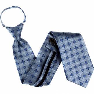 Blue Extra Long Zipper Tie Zipper Ties