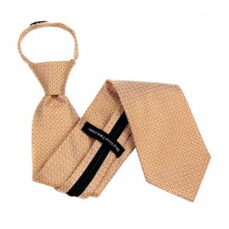 Orange Extra Long Zipper Tie Zipper Ties