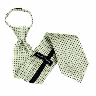 Green Extra Long Zipper Tie Zipper Ties