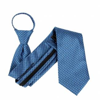 Blue Extra Long Zipper Tie Zipper Ties