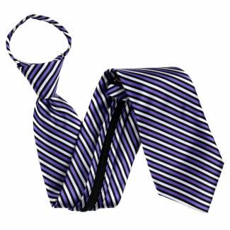 Purple Extra Long Zipper Tie Zipper Ties