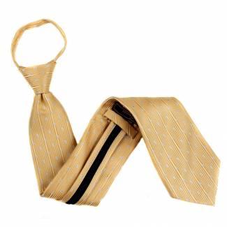 Yellow Extra Long Zipper Tie Zipper Ties