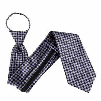 Lavender Zipper Tie Regular Length Zipper Tie
