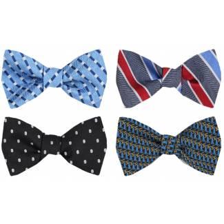 Self Tie Bow Tie Pack Self Tie - Assorted Packs