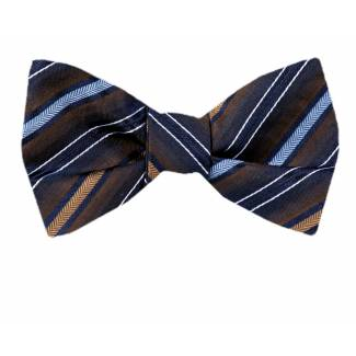 XL Self Tie Bow Tie - Silk Self Tie Big & Tall