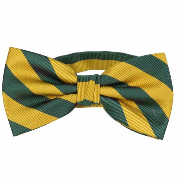 Pre Tied Striped Bow Tie Pre Tied