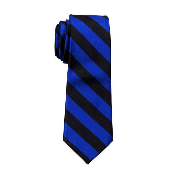 Skinny College Stripe Tie Narrow