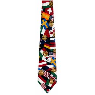 World Flag Flag Ties
