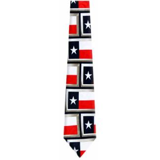 Texas Flag Tie Flag Ties