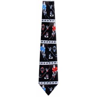 Hockey Player Tie Sports Ties