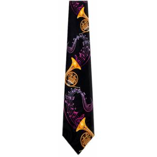 French Horn Tie Music Ties