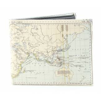 World Map Wallet Wallets
