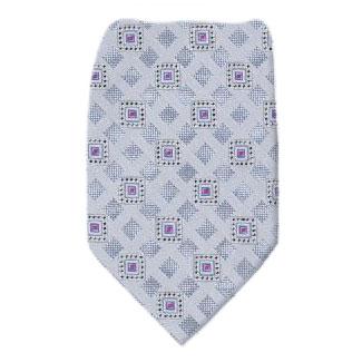 Pattern Extra Long Silk Tie Ties
