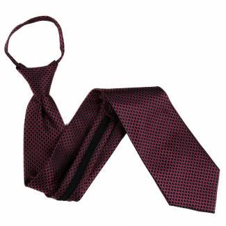 Burgundy Extra Long Zipper Tie Zipper Ties