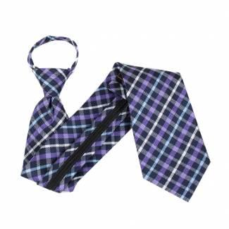 Black Extra Long Zipper Tie Zipper Ties