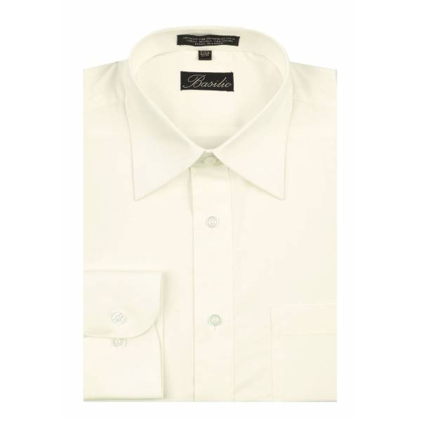 Mens Shirt Off White - Light Ivory Mens
