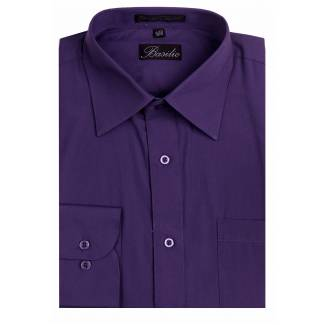 Mens Shirt Purple Mens