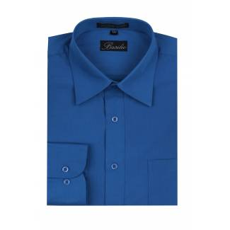 Mens Shirt Royal Blue Mens