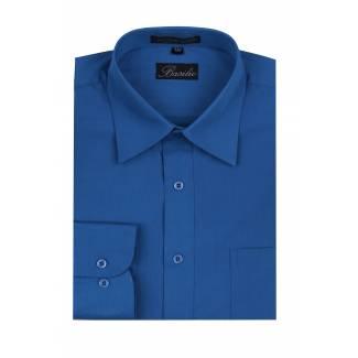 Mens Shirt Royal Blue Mens