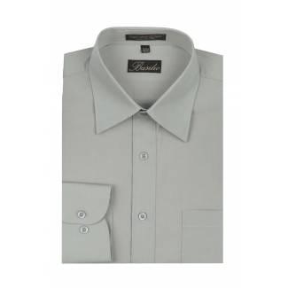 Mens Shirt Silver Mens