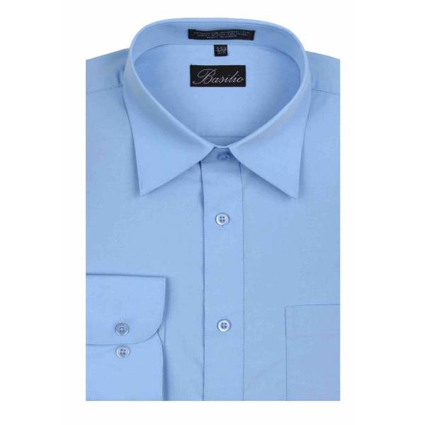 Mens Shirt Sky Blue Mens