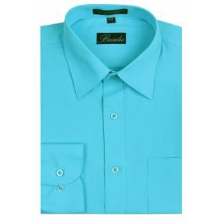Mens Shirt Turquoise Mens