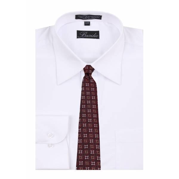 Shirt & Tie Set Mens Shirt & Tie