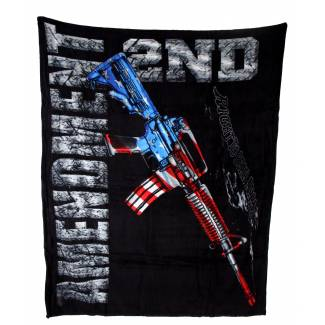 2nd Amendment Fleece Blanket Fleece Blankets