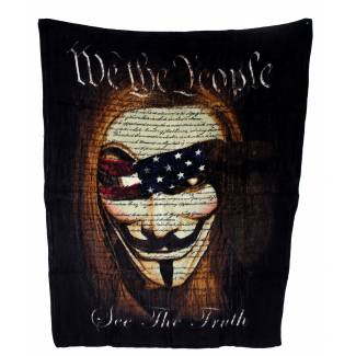 We The People Fleece Blanket Fleece Blankets