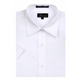Mens Short Sleeve Shirt White Short Sleeve