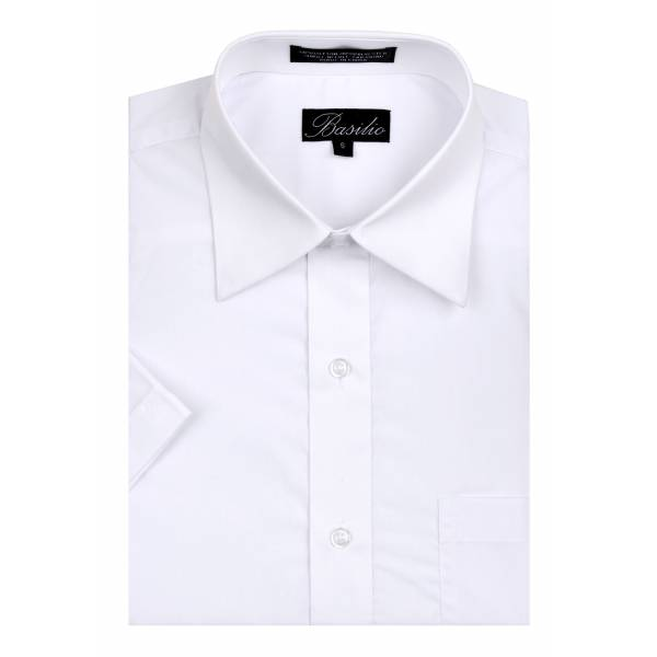 Mens Short Sleeve Shirt White Short Sleeve