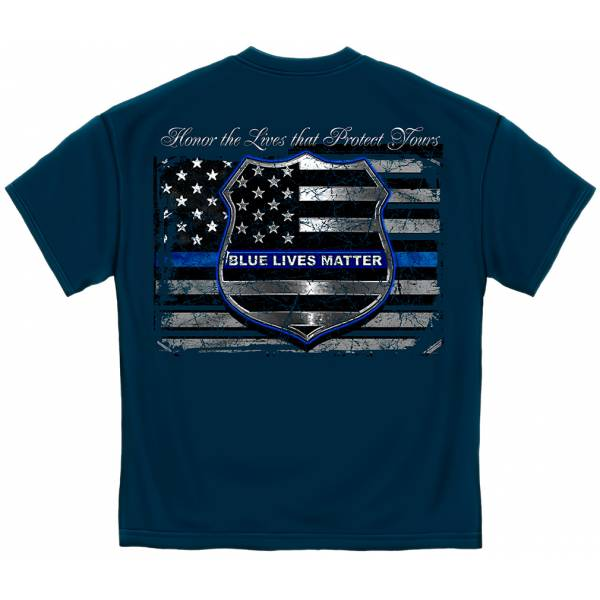 Blue Lives Matter T-Shirt T-Shirts
