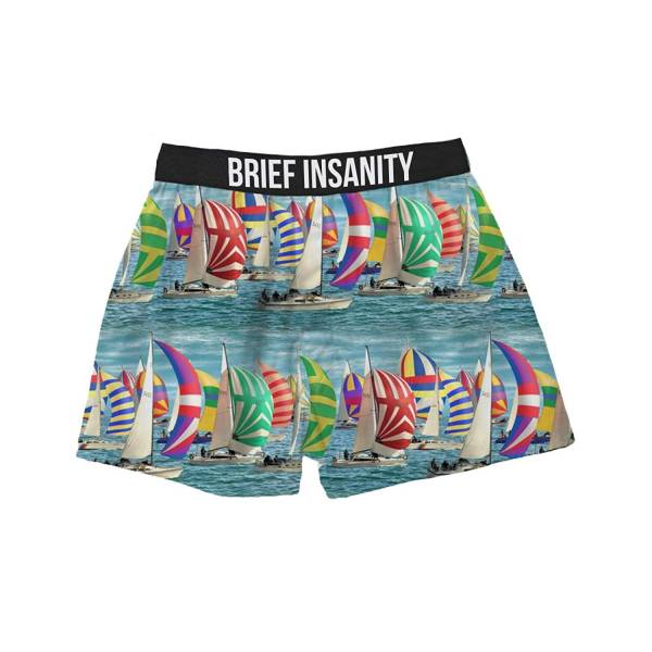 Sailboat Regatta boxer shorts Boxer Shorts