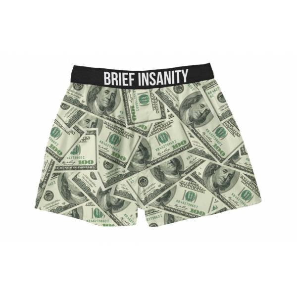 100 Dollar Bills boxer shorts Boxer Shorts