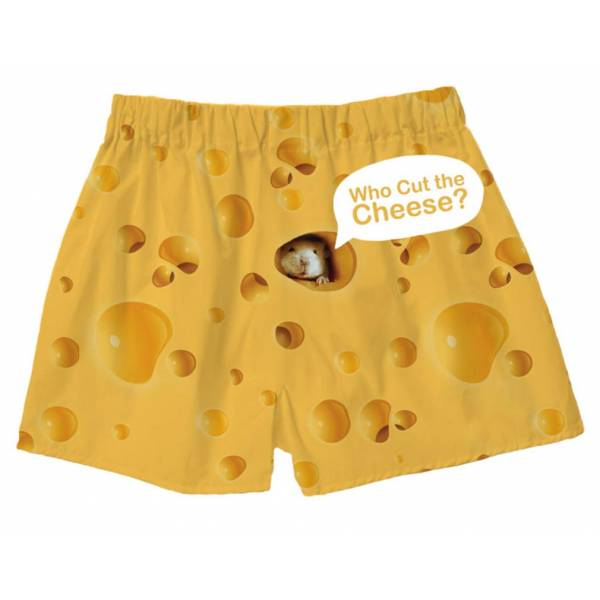 Mouse and Cheese boxer shorts Boxer Shorts