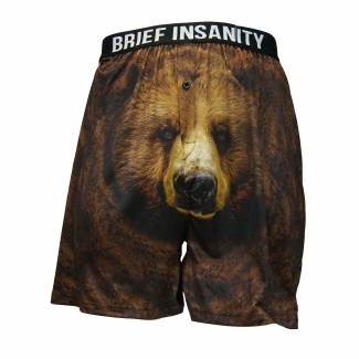 Brown Bear boxer shorts Boxer Shorts