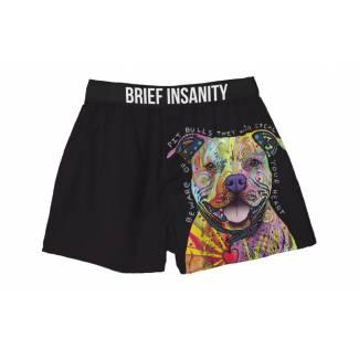 Pitbull Dog in Color boxer shorts Boxer Shorts