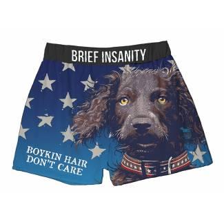Dog Bad Hair Day boxer shorts Boxer Shorts