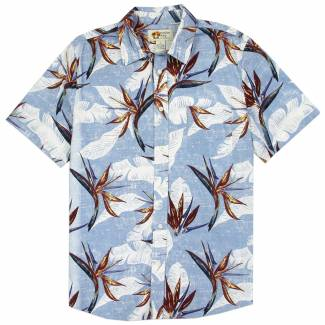 Hawaiian Print Cotton Shirt Hawaiian Shirts