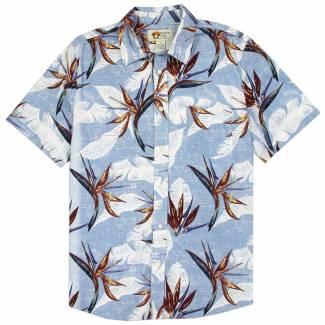 Hawaiian Print Cotton Shirt Hawaiian Shirts