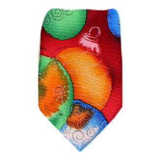 Jerry Garcia Christmas Tie Regular Length