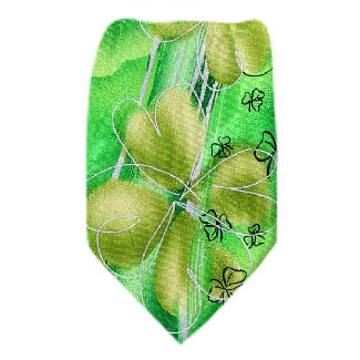 Jerry Garcia St Patricks Tie Regular Length