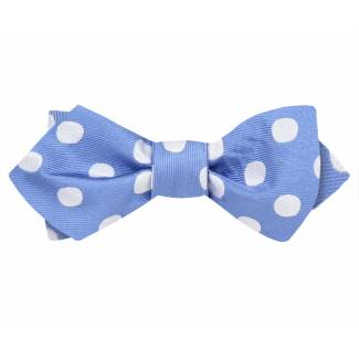 Diamond Tip Bow Tie Self Tie Diamond Tip