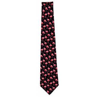 Novelty Flamingo Tie Animal Ties