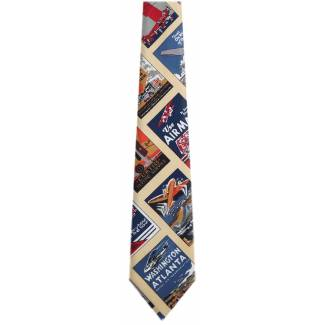 Airplane Tie Transportation Ties