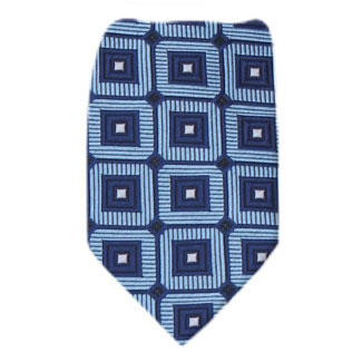 Blue Boys 14 inch Zipper Tie Zipper Tie 14 inch