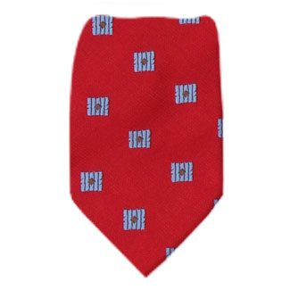 Red Boys 14 inch Zipper Tie Zipper Tie 14 inch