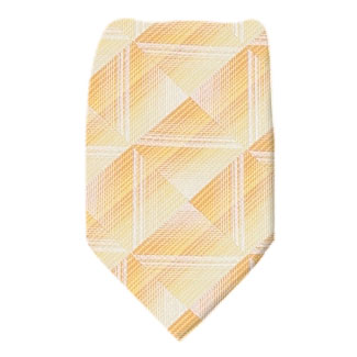 Yellow Boys 14 inch Zipper Tie Zipper Tie 14 inch