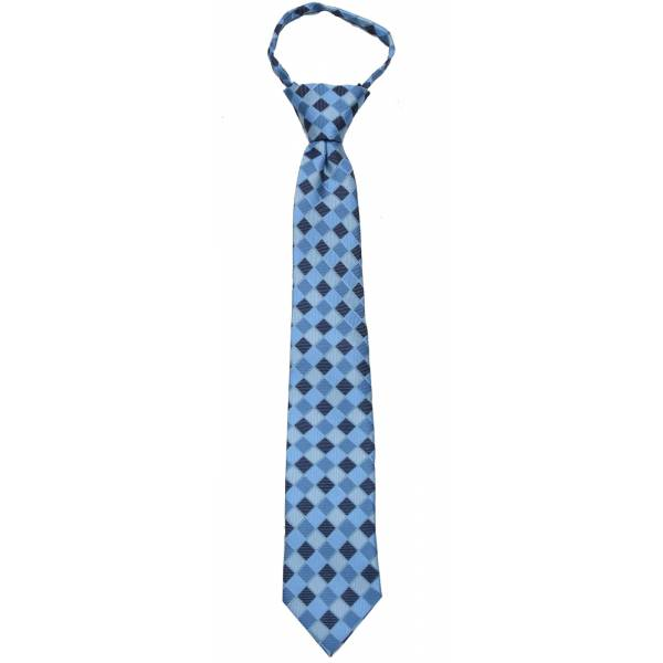 Blue Boys 14 inch Zipper Tie Zipper Tie 14 inch
