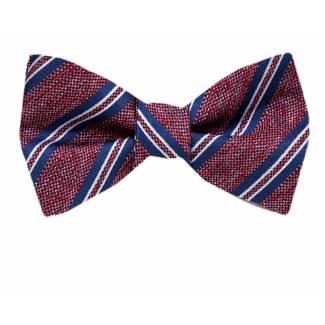 XL Self Tie Bow Tie - Silk Self Tie Big & Tall